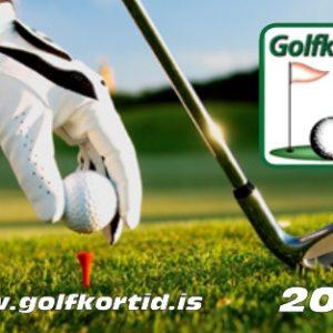 golfkortið 2017